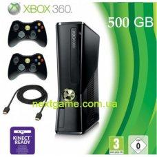 Xbox 360E Slim 500Gb FREEBOOT + LT+3.0 + 120 Игр +дополнительный джойстик + HDMI