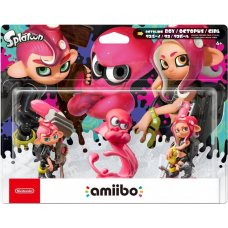 Набор Amiibo Splatoon Octoling