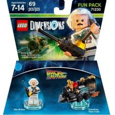 LEGO Dimensions: Back to the Future Doc Brown Fun Pack