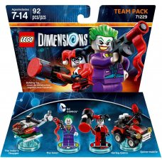 LEGO Dimensions: The Joker & Harley Quinn Team Pack