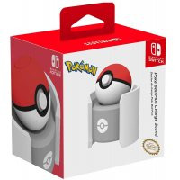 Hori Official Pokemon Poke Ball Plus Drop & Charge Stand Charger (Switch)