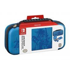 Deluxe Travel Case Zelda Breath of the Wild (Link Blue) Nintendo Switch