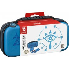 Deluxe Travel Case Zelda Breath of the Wild (Sheikah Eye Blue) Nintendo Switch