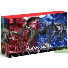 Nintendo Switch Red/Blue + Bayonetta 2