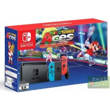 Nintendo Switch Red/Blue + Mario Tennis Aces