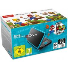 New Nintendo 2DS XL Blue-Black + Super Mario 3D Land (PAL)