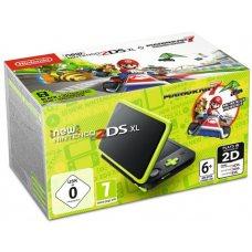 New Nintendo 2DS XL Lime-Green + Mario Kart 7