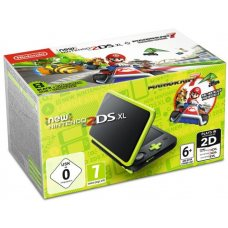New Nintendo 2DS XL Lime-Green + Mario Kart 7