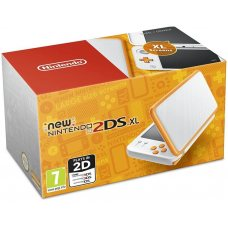 New Nintendo 2DS XL White-Orange (PAL)