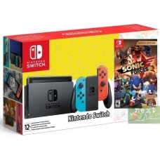 Nintendo Switch Red/Blue + Sonic Forces