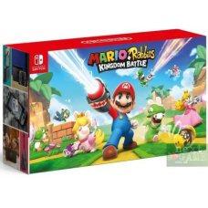 Nintendo Switch Grey + Mario and Rabbids Kingdom Battle