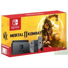 Nintendo Switch Grey + Mortal Kombat 11