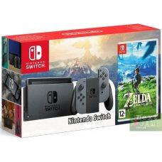 Nintendo Switch Grey + The Legend of Zelda: Breath of the Wild
