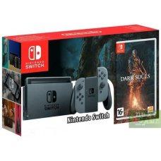 Nintendo Switch Grey + Dark Souls: Remastered