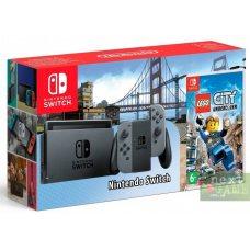 Nintendo Switch Grey + LEGO City Undercover