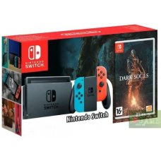 Nintendo Switch Red/Blue + Dark Souls: Remastered