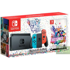 Nintendo Switch Red/Blue + Just Dance 2019