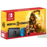 Nintendo Switch Red/Blue + Mortal Kombat 11