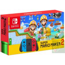 Nintendo Switch Red/Blue + Super Mario Maker 2
