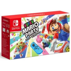 Nintendo Switch Red/Blue + Super Mario Party