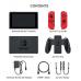 Nintendo Switch Red + Super Mario Odyssey + защитный чехол
