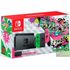 Nintendo Switch Pink/Green + Splatoon 2 + Защитный чехол