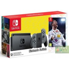 Nintendo Switch Grey + Fifa 18