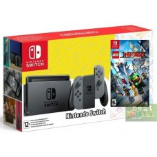 Nintendo Switch Grey + Lego Ninjago Movie Video Game