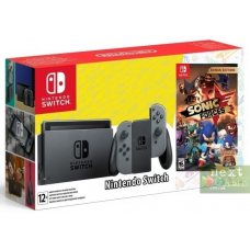 Nintendo Switch Grey + Sonic Forces