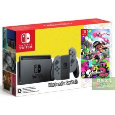 Nintendo Switch Grey + Splatoon 2