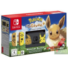 Nintendo Switch Limited Edition Pokemon: Let's Go, Eevee