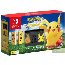 Nintendo Switch Limited Edition Pokemon: Let's Go, Pikachu