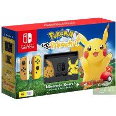 Nintendo Switch Limited Edition Pokemon: Let's Go, Pikachu