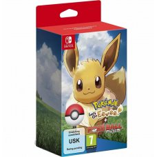 Pokemon Let's Go Eevee! + Poke Ball Plus (Switch)