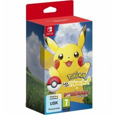 Pokemon Let's Go Pikachu! + Poke Ball Plus (Switch)