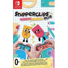 Snipperclips Plus Cut it out together! (Switch)