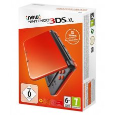 Nintendo New 3DS XL Orange + Black