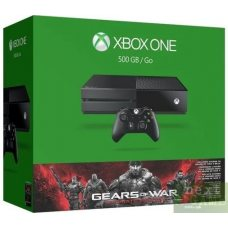 Xbox One 500Gb + Игра Gears of War Ultimate Edition