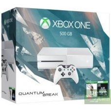 Xbox One 500Gb White + Quantum Break + Alan Wake