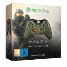 Джойстик Wireless Controller Halo 5: Guardians Master Chief Limited Edition (Xbox One)