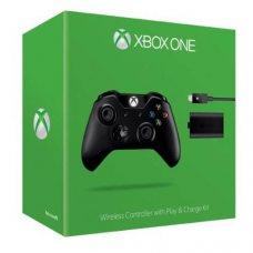 Джойстик Джойстик Wireless Controller with Play & Charge Kit (Xbox One)