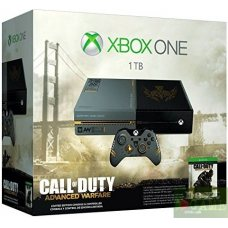 Xbox One 1ТВ Limited Edition + Игра Call of Duty: Advanced Warfare