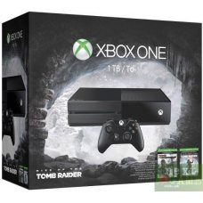 Xbox One 1ТВ + Rise of the Tomb Raider + Tomb Raider: Definitive Edition