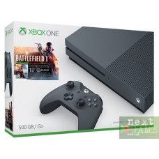 Xbox One S 500GB Storm Gray + Battlefield 1