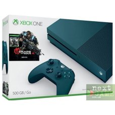 Xbox One S 500GB Deep Blue + Gears of War 4