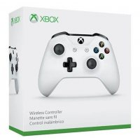 Джойстик Wireless Controller White (Xbox One S)