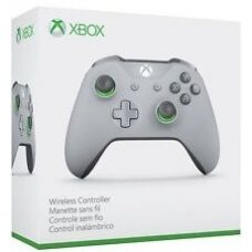 Джойстик Wireless Controller Grey/Green (Xbox One S)