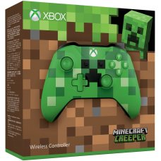 Джойстик Wireless Controller Minecraft Creeper (Xbox One S)