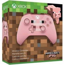 Джойстик Wireless Controller Minecraft Pig (Xbox One S)