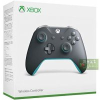 Джойстик Wireless Controller Grey/Blue (Xbox One S)